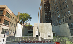 The location of my very first apartment in Chicago. It seems gentrification has gotten the best of the old girl and it's been torn down. I stayed here about a year.